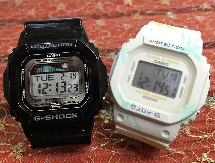 恋人たちのGショックペアウオッチ G-SHOCK BABY-G ペア腕時計 カシオ 2本セット gショック ベビーg GLX-5600-7JF BGD-560CF-7JF デジタル人気 ラッピング無料g-shock クリスマスプレゼント