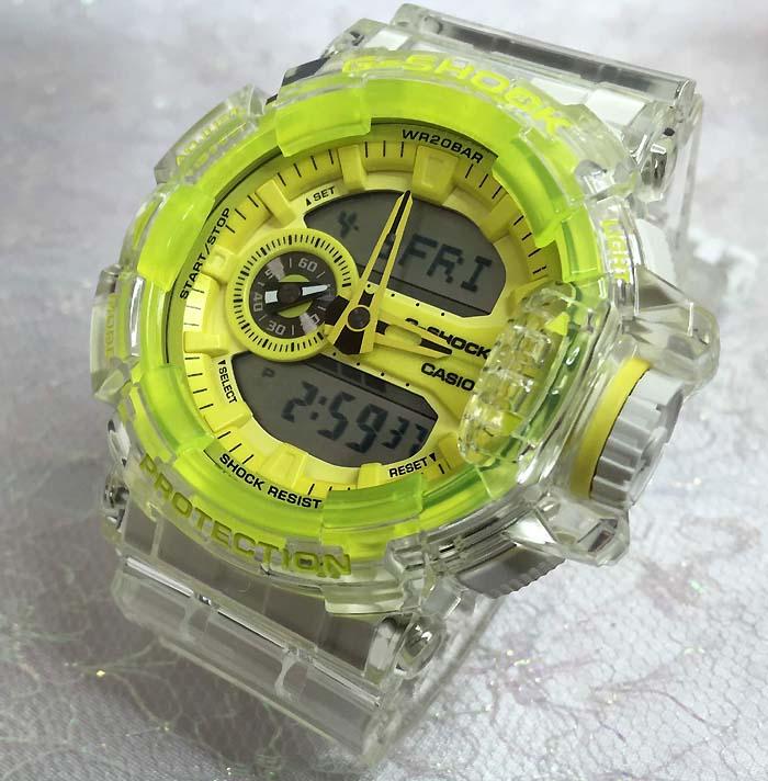 カシオ CASIO 腕時計 G-SHOCK ジーショック Clear skeleton GA-400SK-1A9JF クリアスケルトン限定モデル メンズ腕時計 あす楽対応