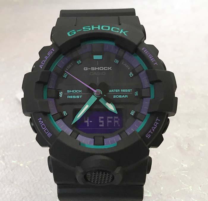 国内正規品 新品 Gショック G-SHOCK カシオ メンズウオッチ gショック デジタル 流通限定モデル GA-800BL-1AJF プレゼント 腕時計 ギフト 人気 ラッピング無料 g-shock メッセージカード手書きします あす楽対応 クリスマスプレゼント