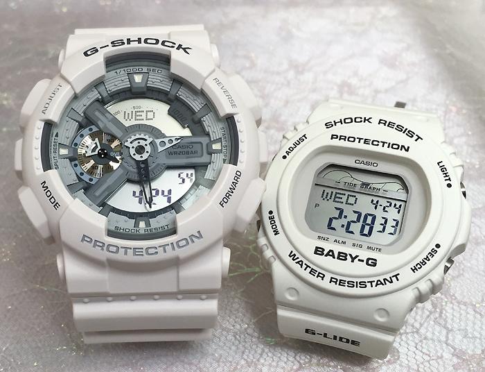 恋人たちのGショックペアウオッチ G-SHOCK ペア腕時計 カシオ GA-110C-7AJF BLX-570-7JF プレゼント ギフト ラッピング無料 g-shock メッセージカード手書きします あす楽対応 クリスマスプレゼント