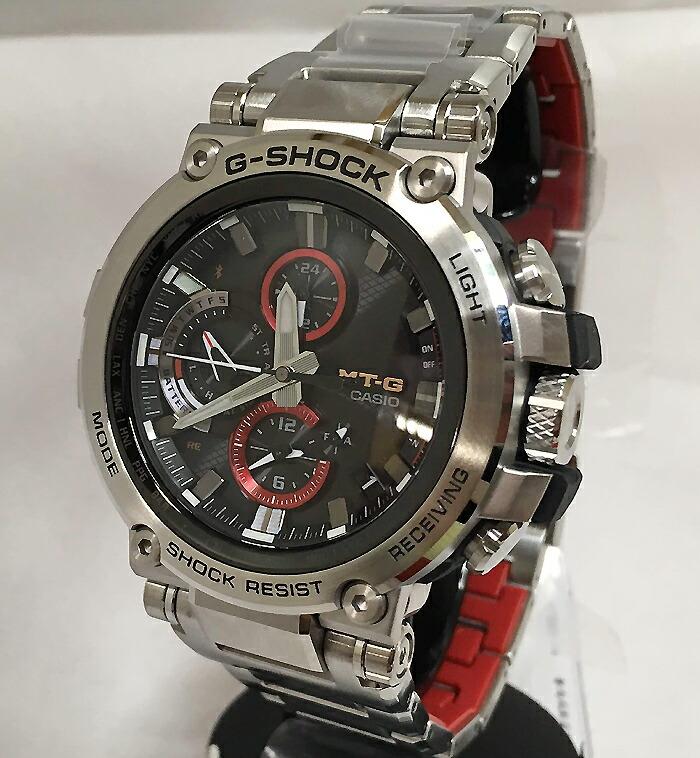 国内正規品 カシオCASIO 腕時計 G-SHOCK ジーショック MT-G Bluetooth 搭載 電波ソーラー MTG-B1000D-1AJF メンズ 人気 ラッピング無料 電波ソーラー g-shock ブラック メタルブレスあす楽対応
