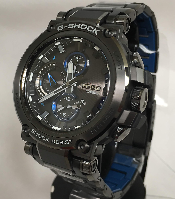 国内正規品 カシオCASIO 腕時計 G-SHOCK ジーショック MT-G Bluetooth 搭載 電波ソーラー MTG-B1000BD-1AJF メンズ 人気 ラッピング無料 電波ソーラー g-shock ブラック メタルブレスあす楽対応