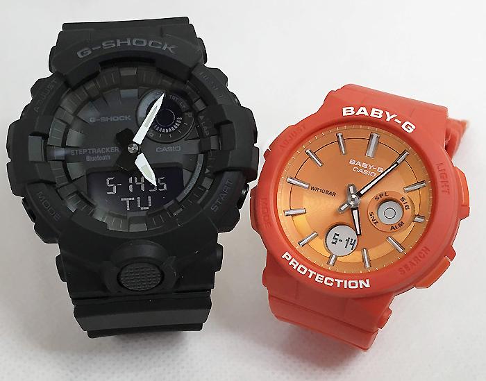 恋人たちのGショックペアウオッチ G-SHOCK BABY-G ペア腕時計 カシオ 2本セットgショック ベビーg アナデジ GBA-800-1AJF BGA-255-4AJF 人気 ラッピング無料 g-shock メッセージカード手書きします あす楽対応 クリスマスプレゼント