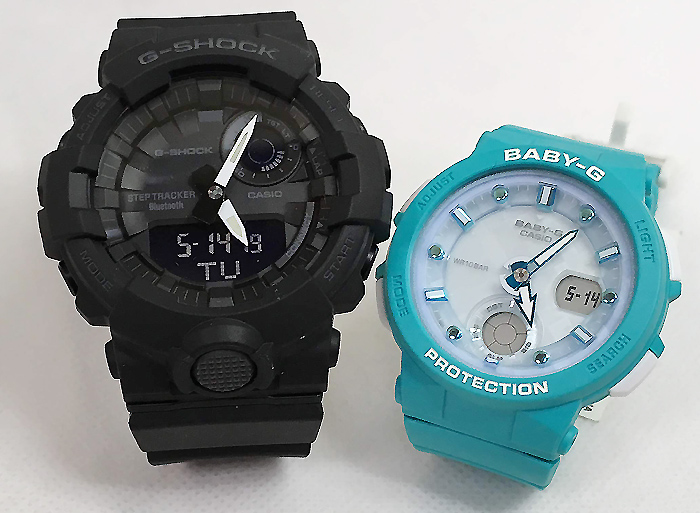 恋人たちのGショック ペアウオッチ G-SHOCK BABY-G ペア腕時計 カシオ 2本セット gショック ベビー GBA-800-1AJF BGA-250-2AJF プレゼントギフト 人気 ラッピング無料 新品メッセージカード手書きします あす楽対応 クリスマスプレゼント