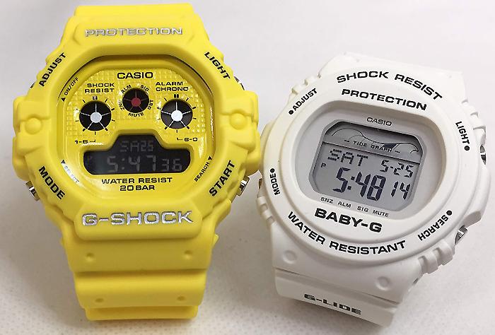 恋人たちのGショック ペアウオッチ G-SHOCK BABY-G ペア腕時計 カシオ 2本セット gショック ベビーg DW-5900RS-9JF BLX-570-7JFデジタル お揃い 人気 ラッピング無料 あす楽対応 クリスマスプレゼント
