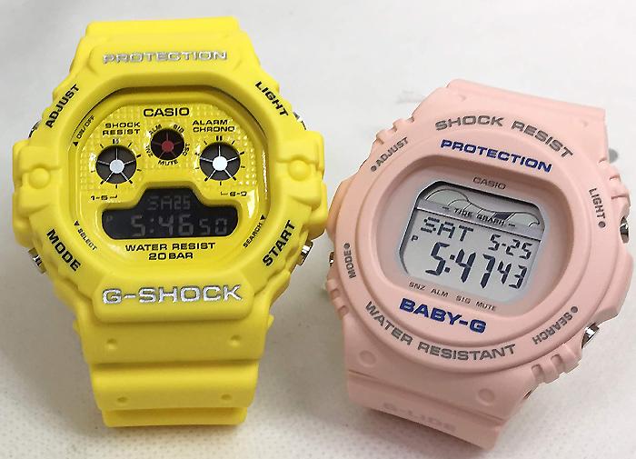 恋人たちのGショック ペアウオッチ G-SHOCK BABY-G ペア腕時計 カシオ 2本セット gショック ベビーg DW-5900RS-9JF BLX-570-4JF デジタル お揃い 人気 ラッピング無料 あす楽対応 クリスマスプレゼント