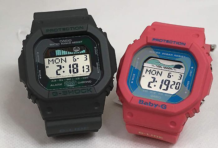 電池式 ジーショック 記念日 誕生日 プレゼント ペアウォッチ gショック カップル お揃い ピンク 恋人たちのGショック ペアウオッチ G-SHOCK GLX-5600VH-1JF 特価キャンペーン ベビーg カシオ 2本セット 手書きのメッセージカードお付けします BABY-G デジタル BLX-560VH-4JFラッピング無料 クリスマスプレゼント ペア腕時計 g-shock 日本最大級の品揃え あす楽対応
