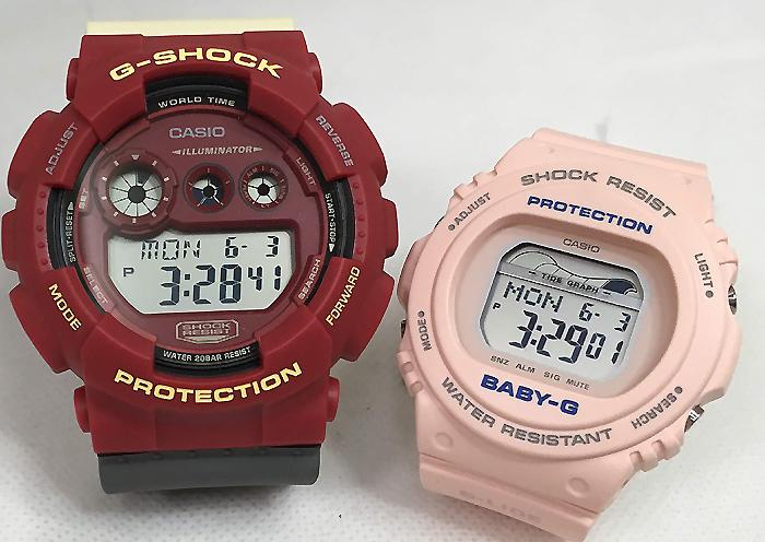恋人たちのGショック ペアウオッチ G-SHOCK BABY-G ペア腕時計 カシオ 2本セット gショック ベビーg GD-120NC-4JF BLX-570-4JFデジタル お揃い 人気 ラッピング無料 あす楽対応 クリスマスプレゼント