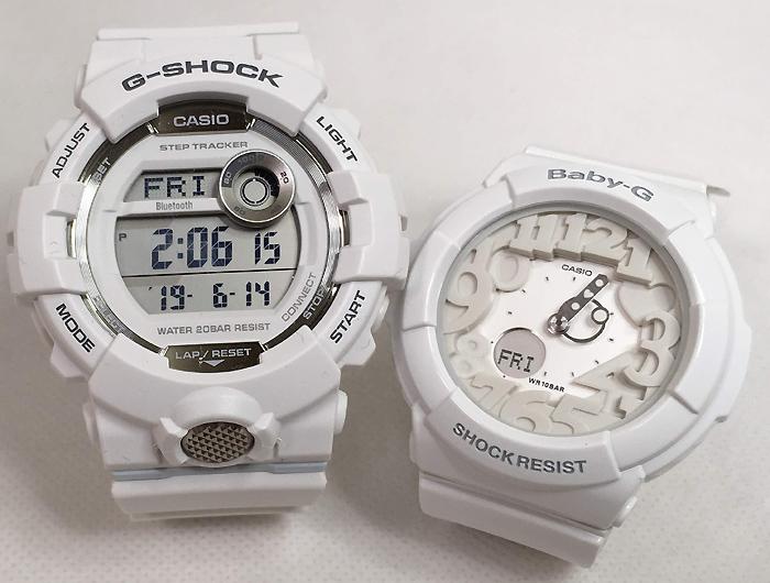 恋人たちのGショック ペアウオッチ G-SHOCK BABY-G ペア腕時計 カシオ 2本セット gショック ベビーg アナデジ GBD-800-7JF BGA-131-7BJF ギフト ラッピング無料 手書きのメッセージカードお付けします あす楽対応