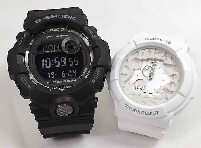 恋人たちのGショック ペアウオッチ G-SHOCK BABY-G ペア腕時計 カシオ 2本セット gショック ベビーg アナデジ GBD-800-1BJF BGA-131-7BJF ギフト ラッピング無料 手書きのメッセージカードお付けします あす楽対応