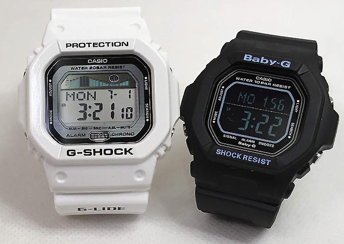 恋人たちのGショックペアペアウォッチ G-SHOCK BABY-G ペア腕時計 カシオ 2本セット gショック ベビーg アナデジ GLX-5600-7JF BG-5606-7BJF お揃い プレゼント ギフト あす楽対応人気 ラッピング無料 クリスマス