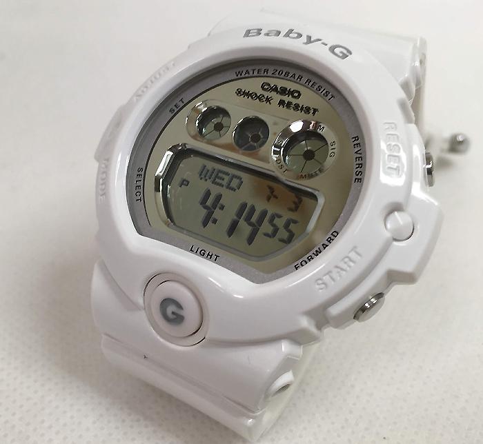 BABY-G カシオ 白 BG-6900-7JF プレゼント 腕時計 ギフト 人気 ラッピング無料 愛の証 感謝の気持ち baby-g 国内正規品 新品 メッセージカード手書きします あす楽対応