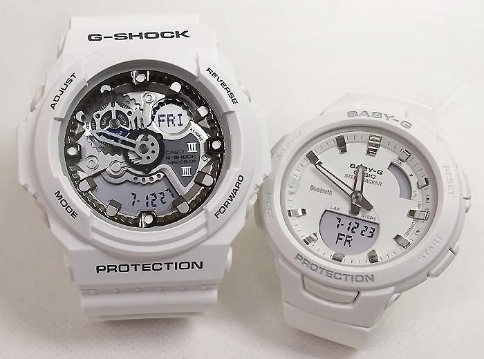 恋人たちのGショックペアウオッチ G-SHOCK ペア腕時計 カシオ GA-300-7AJF BSA-B100-7AJF プレゼント ギフト ラッピング無料 g-shock メッセージカード手書きします クリスマスプレゼント