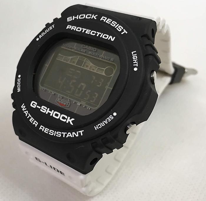 国内正規品 新品 Gショック G-SHOCK カシオ メンズウオッチ gショック デジタル ジーライド 電波ソーラー GWX-5700SSN-1JF プレゼント 腕時計 ラッピング無料 感謝の気持ち g-shock メッセージカード手書きします あす楽 クリスマス