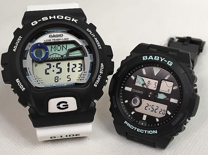 恋人たちのGショック ペアウオッチ G-SHOCK BABY-G ペア腕時計 カシオ 2本セット gショック ベビーg アナデジ GLX-6900SS-1JF BAX-100-1AJF プレゼントホワイト 白 ギフト ラッピング無料 メッセージカード g-shockあす楽対応 クリスマスプレゼント