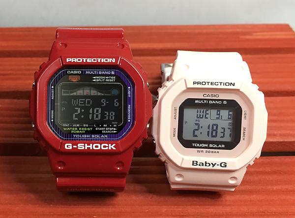 恋人たちのGショックペアウオッチ G-SHOCK BABY-G ペア腕時計 カシオ 2本セット gショック ベビーg デジタル GWX-5600C-4JF BGD-5000-4BJF ギフト ラッピング無料 メッセージカード g-shock あす楽対応 クリスマスプレゼント