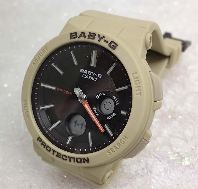 BABY-G カシオ BGA-255-5AJF クオーツ プレゼント腕時計 ギフト 人気 ラッピング無料 愛の証 感謝の気持ち baby-g 国内正規品 新品 メッセージカード手書きします あす楽対応