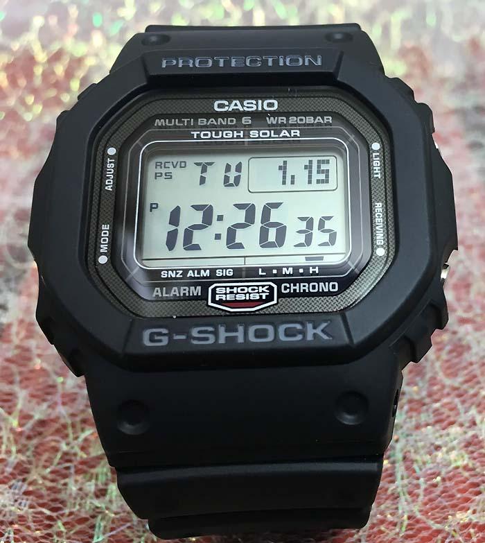 スーパーセール期間限定 国内正規品 新品 カシオG-SHOCK Gショック電波ソーラ スクリューバック スピードモデル GW-5000-1JF 人気モデル プレゼント腕時計 ギフト 人気 ラッピング無料 愛の証 感謝の気持ち g-shock