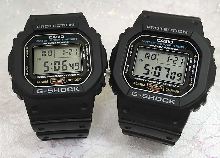 恋人たちのGショック ペアウオッチ G-SHOCK BABY-G ペア腕時計 カシオ 2本セット gショック 双子コーデ DW-5600E-1 DW-5600E-1 デジタル 人気 ラッピング無料 あす楽対応 クリスマスプレゼント