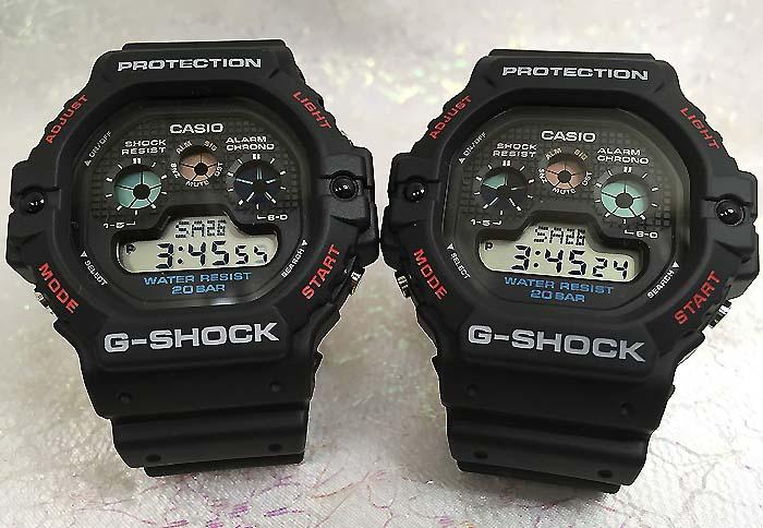 恋人たちのGショック ペアウオッチ G-SHOCK BABY-G ペア腕時計 カシオ 2本セット gショック DW-5900-1JF DW-5900-1JF プレゼント ギフト ラッピング無料 メッセージカード g-shock ペアウオッチ クリスマスプレゼント