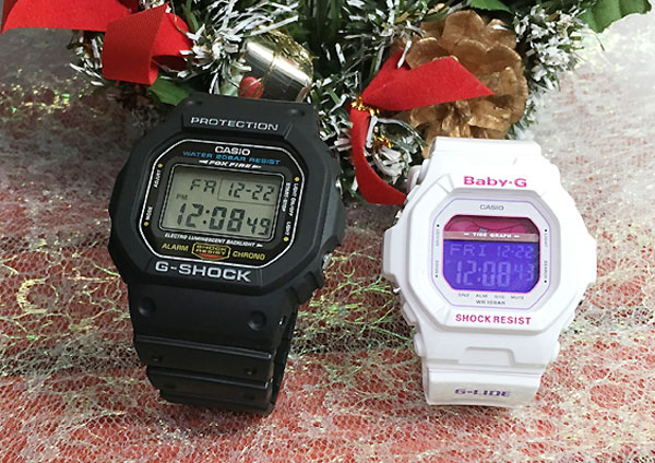 20c812d3c15 Jewelry time Murata of watch  Proof of the G-Shock pair G-SHOCK BABY ...