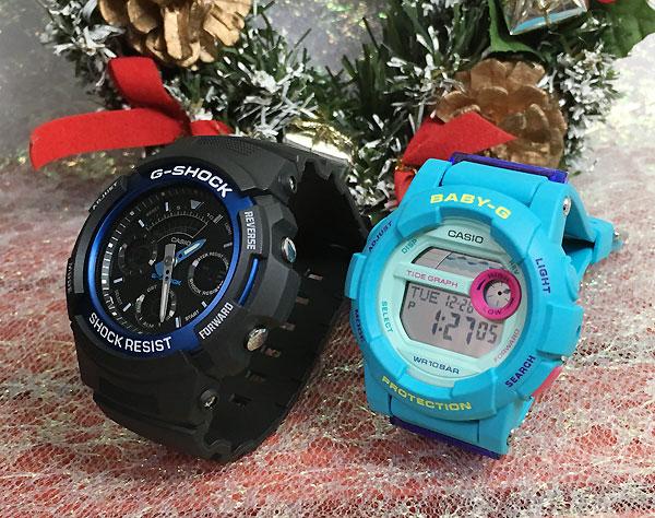 恋人たちのGショック ペアウオッチ G-SHOCK BABY-G ペア腕時計 カシオ 2本セット gショック ベビーg AW-591-2AJF BGD-180FB-2JF人気 ラッピング無料 愛の証g-shock ペアウオッチ クリスマスプレゼント