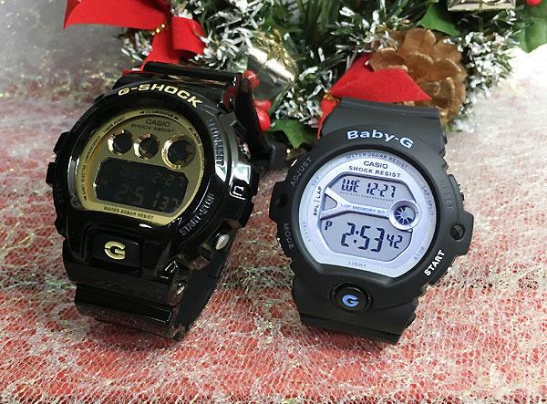 恋人たちのGショック ペアウオッチ G-SHOCK BABY-G ペア腕時計 カシオ 2本セット gショック ベビーg デジタル DW-6900CB-1JF BG-6903-1JF人気 ラッピング無料g-shock クリスマスプレゼント