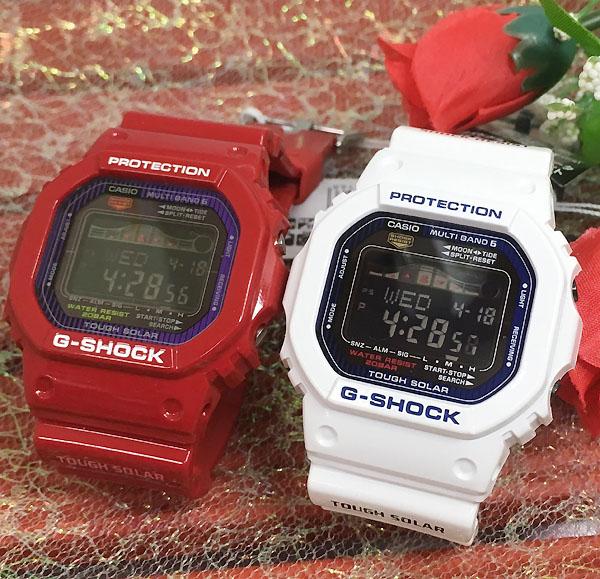 恋人たちのGショックペアウオッチ G-SHOCK G-LIDE ペア腕時計 カシオ 2本セット GWX-5600C-4JF GWX-5600C-7JF デジタル ソーラー電波 プレゼント ギフト ラッピング無料 あす楽対応 クリスマスプレゼント