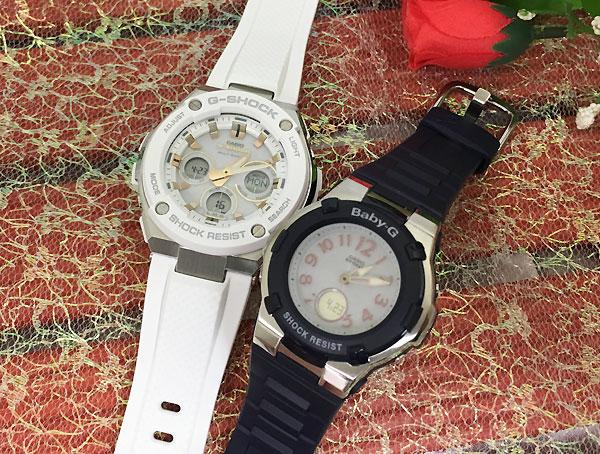 恋人たちのGショックペア G-SHOCK BABY-G ペアウォッチ ペア腕時計 カシオ 2本セット gショック 電波ソーラー GST-W300-7AJF BGA-1100-2BJF 人気 ラッピング無料 クリスマス
