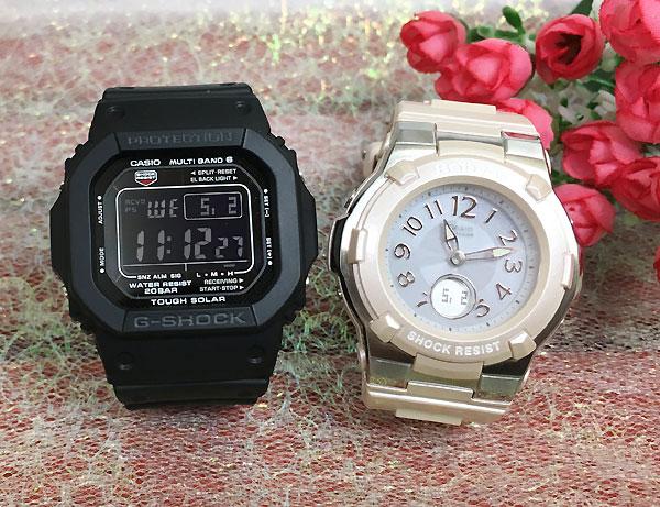 Gショック ペア G-SHOCK BABY-G ペアウォッチ ペア腕時計 カシオ 2本セット gショック ベビーg デジタル アナデジ GW-M5610-1BJF BGA-1100-4BJF 人気 ラッピング無料 クリスマスプレゼント あす楽対応