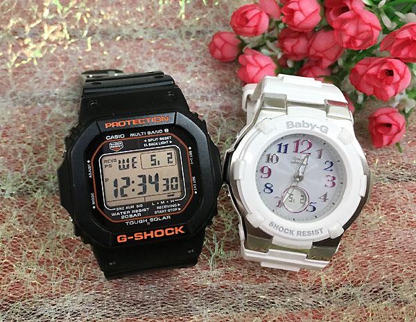 Gショック ペア G-SHOCK BABY-G ペアウォッチ ペア腕時計 カシオ 2本セット gショック ベビーg デジタル アナデジ GW-M5610R-1JF BGA-1100GR-7BJF 人気 ラッピング無料 あす楽対応 クリスマスプレゼント