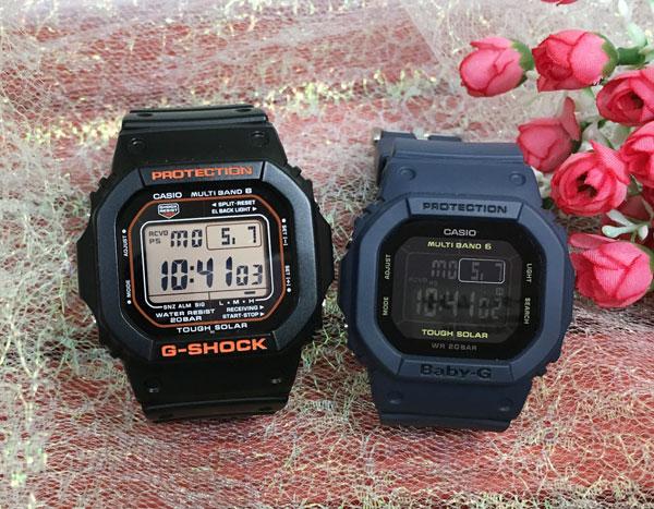 Gショック ペア G-SHOCK BABY-G ペアウォッチ ペア腕時計 カシオ 2本セット gショック ベビーg デジタル GW-M5610R-1JF BGD-5000-2JF 人気 ラッピング無料 あす楽対応 クリスマスプレゼント