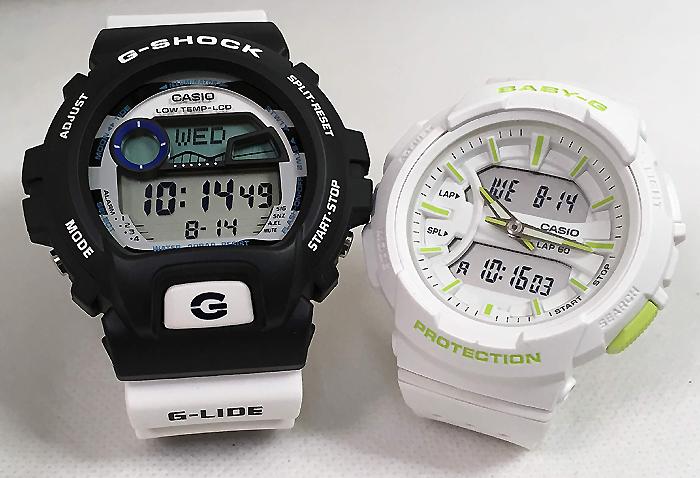 恋人たちのGショックペアウオッチ G-SHOCK BABY-G ペア腕時計 カシオ 2本セットgショック ベビーg アナデジ GLX-6900SS-1JF BGA-240-7A2JF スマート人気 ラッピング無料 g-shock メッセージカード手書きします あす楽対応