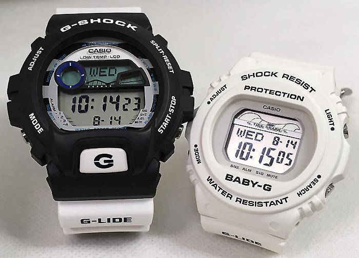 恋人たちのGショックペアウオッチ G-SHOCK ペア腕時計 カシオ GLX-6900SS-1JF BLX-570-7JFプレゼント ギフト ラッピング無料 g-shock メッセージカード手書きします あす楽対応 クリスマスプレゼント