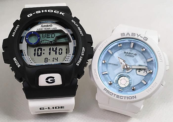 恋人たちのGショックペアウォッチ G-SHOCK BABY-G ペア腕時計 カシオ 2本セット gショック ベビーg アナデジ GLX-6900SS-1JF BGA-250-7A1JF お揃い プレゼント ギフト 人気 ラッピング無料 新品 メッセージカード手書きします あす楽対応 クリスマスプレゼント