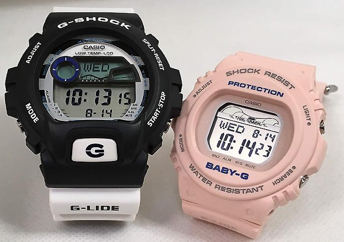 恋人たちのGショック ペアウオッチ G-SHOCK BABY-G ペア腕時計 カシオ 2本セット gショック ベビーg GLX-6900SS-1JF BLX-570-4JF デジタル お揃い 人気 ラッピング無料 あす楽対応 クリスマスプレゼント