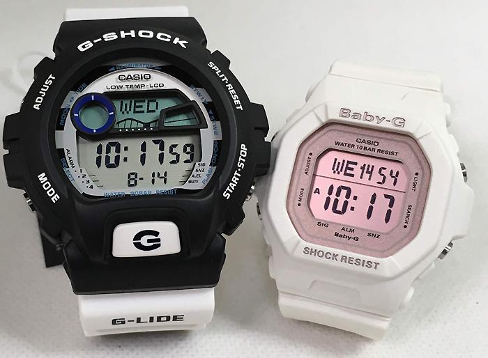 恋人たちのGショック ペアウオッチG-SHOCK BABY-G ペア腕時計 カシオ 2本セット gショック ベビーg GLX-6900SS-1JF BG-5606-7BJF G-LIDE デジタル お揃い 人気 ラッピング無料 g-shock ペアウオッチ クリスマスプレゼント