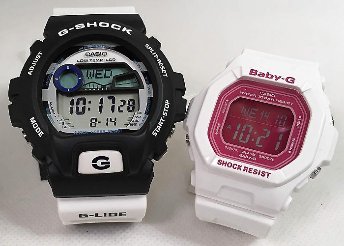 恋人たちのGショックペアウオッチ G-SHOCK BABY-G ペア腕時計 カシオ 2本セット gショック ベビーg GLX-6900SS-1JF BG-5601-7JF デジタル お揃い人気 ラッピング無料 愛の証g-shock あす楽対応 クリスマスプレゼント