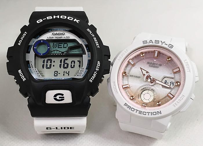 恋人たちのGショックペアウオッチ G-SHOCK BABY-G ペア腕時計 カシオ 2本セット gショック ベビーg GLX-6900SS-1JF BGA-250-7A2JF プレゼント ギフト ラッピング無料 メッセージカード g-shock クリスマス プレゼント 愛の証