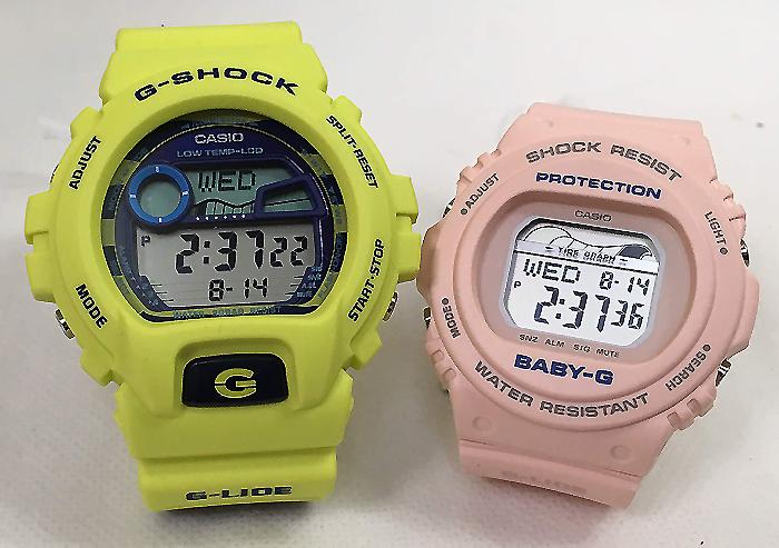 恋人たちのGショック ペアウオッチ G-SHOCK BABY-G ペア腕時計 カシオ 2本セット gショック ベビーg GLX-6900SS-9JF BLX-570-4JF デジタル お揃い 人気 ラッピング無料 あす楽対応 クリスマスプレゼント