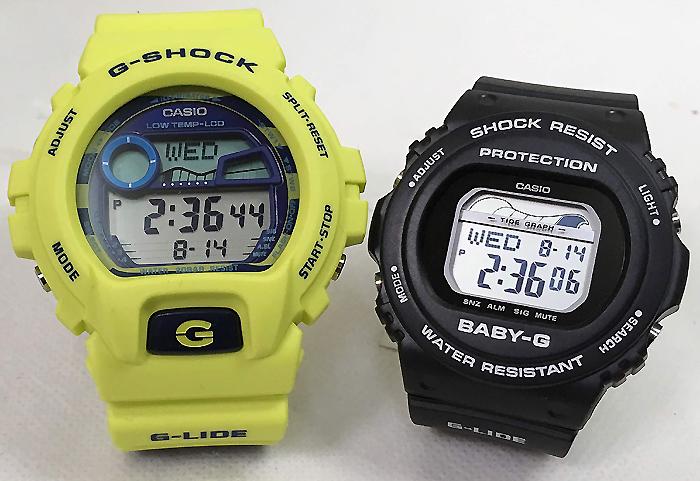 恋人たちのGショック ペアウオッチ G-SHOCK BABY-G ペア腕時計 カシオ 2本セットgショック ベビーg アナデジ GLX-6900SS-9JF BLX-570-1JF 人気 ラッピング無料 g-shock 手書きのメッセージカードお付けします あす楽対応