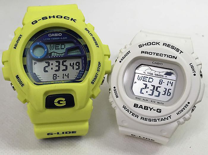 恋人たちのGショックペアウオッチ G-SHOCK ペア腕時計 カシオ GLX-6900SS-9JF BLX-570-7JFプレゼント ギフト ラッピング無料 g-shock メッセージカード手書きします あす楽対応 クリスマスプレゼント