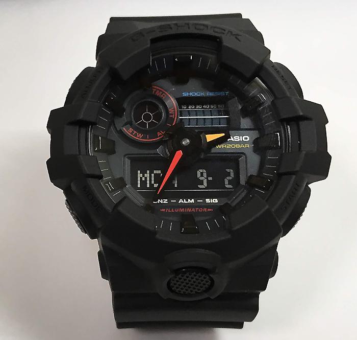 国内正規品 新品 カシオ CASIO 腕時計 G-SHOCK ジーショック G-001BB-1JF メンズ Black ×Neon GA-700BMC-1AJF プレゼント 腕時計 ギフト 人気 ラッピング無料 愛の証 感謝の気持ち g-shock あす楽対応