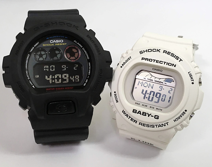 恋人たちのGショックペアウオッチ G-SHOCK ペア腕時計 カシオ DW-6900BMC-1JF BLX-570-7JF プレゼント ギフト ラッピング無料 g-shock メッセージカード手書きします あす楽対応 クリスマスプレゼント