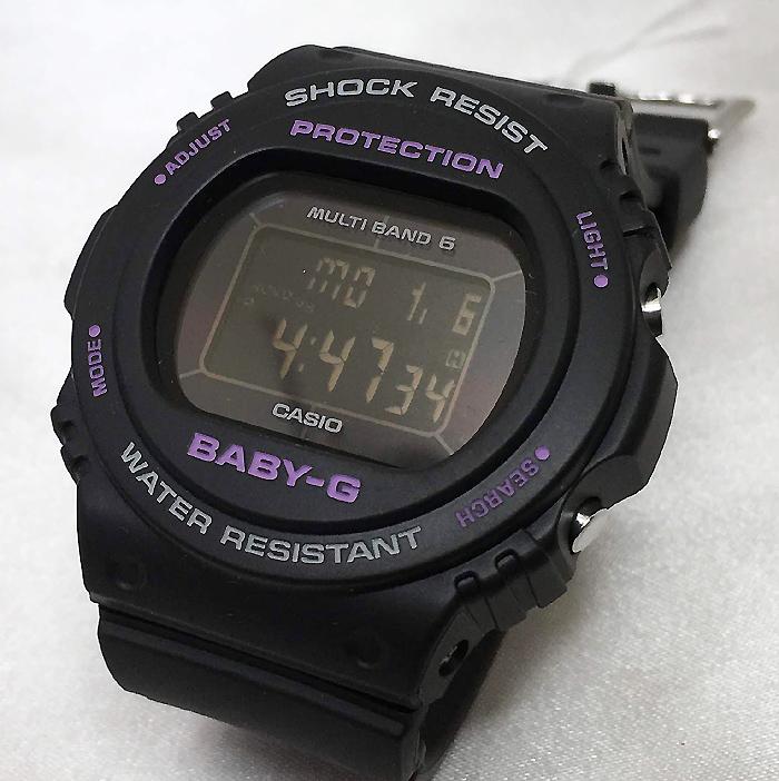 BABY-G カシオ BGD-5700-1JF ソーラー電波 プレゼント腕時計 ギフト 人気 ラッピング無料愛の証 感謝の気持ち baby-g 国内正規品 新品あす楽対応 手書きのメッセージカードお付けします 電波デジタル クリスマスプレゼント
