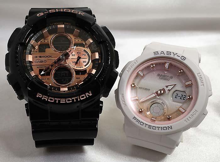 恋人たちのGショックペアウオッチ G-SHOCK ペア腕時計 カシオ GA-140GB-1A2JF BGA-250-7A2JFプレゼント ギフト ラッピング無料 g-shock メッセージカード手書きします あす楽対応 クリスマスプレゼント