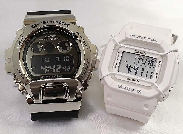 恋人たちのGショックペアウオッチ G-SHOCK ペア腕時計 カシオ GM-6900-1JF BGD-501-7JFプレゼント ギフト ラッピング無料 手書きのメッセージカードお付けします あす楽対応 クリスマスプレゼント