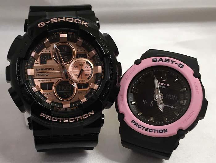 恋人たちのGショックペアウオッチ G-SHOCK ペア腕時計 カシオGA-140GB-1A2JF BGA-270-1AJF プレゼント ギフト ラッピング無料 g-shock メッセージカード手書きします あす楽対応 クリスマスプレゼント