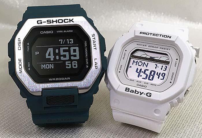 恋人たちのGショック ペアウオッチ Gショック ペア G-SHOCK BABY-G ペア腕時計 カシオ 2本セット gショック ベビーg デジタル GBX-100-2JF BLX-560-7JF 人気 ラッピング無料 手書きのメッセージカードお付けします あす楽対応 g-shock クリスマスプレゼント