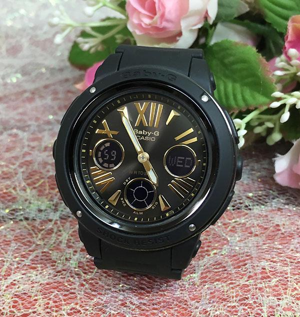 BABY-G カシオ 黒 BGA-153-1BJF プレゼント腕時計 ギフト 人気 ラッピング無料愛の証 感謝の気持ち baby-g 国内正規品 新品